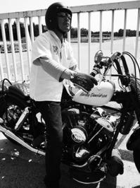 夏目 剛 & Harley-Davidson FLH(2017.05.21) - 君はバイクに乗るだろう