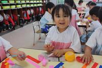 笹飾り(ばら) - 慶応幼稚園ブログ【未来の子どもたちへ ~Dream Can Do!Reality Can Do!!~】