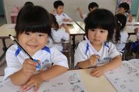せんのワーク(すみれ) - 慶応幼稚園ブログ【未来の子どもたちへ ~Dream Can Do!Reality Can Do!!~】