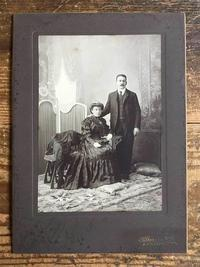 ある夫婦の肖像写真 1905年  /524 - Glicinia 古道具店