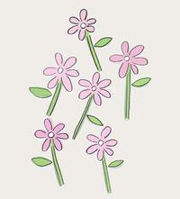 道端に咲く花 - illustration note
