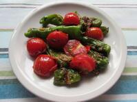 <イギリス料理・レシピ> シシトウとトマトの地中海風【Sweet Pepper with Tomato】 - イギリスの食、イギリスの料理&菓子