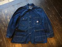 50's Pay Day denim chore jacket - BUTTON UP clothing