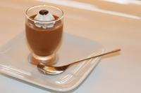 チョコレートムース 仕上げ - パン・お菓子教室 「こ む ぎ」