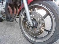 JADE250のF廻りのメンテからのS田サン号 ニンジャ250Rを仕様変更・・・!(^^)! - バイクパーツ買取・販売&バイクバッテリーのフロントロウ!