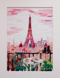 布画でパリ - 布画作家の制作日記