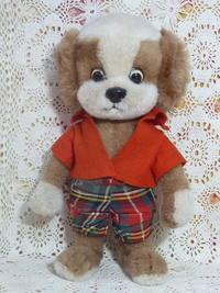 シュコー Schuco ビゴ・ベロ Bigo Bello 赤い洋服の犬 - ヴィンテージ・シュタイフと仲間たち