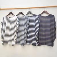 ボーダーリラックスTシャツが入荷です。 - dia grande by MOUNT BLUE
