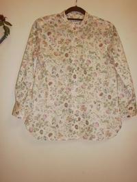 スタンドカラーシャツ - Ace Blossom ななの布らいふ