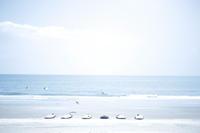 横に並んだ夏の始まり。 - little island walking,