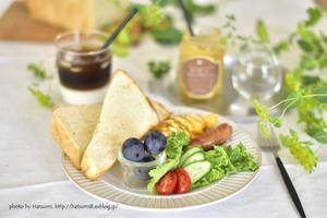 朝食調べ週間 - honey+Cafe