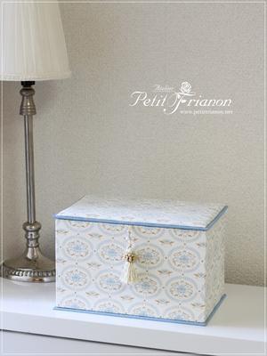 生徒さんの作品 2017.Jun④ - Atelier Petit Trianon   *** cartonnage & interior ***