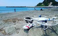 ドローンのある風景 - surftrippper サーフィンという名の旅