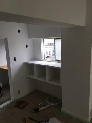 大工さんの最終のお仕事 - 福岡市南区清水町 管理の良い賃貸 玉川ビル