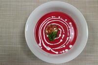 lovely♪ピンクのスープ(ビーツのヴィシソワーズ) - オヤコベントウ