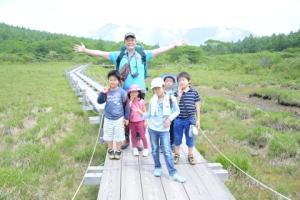 『沼ッ原湿原ハイキング』ツアーの様子 - キャンプ・アンド・キャビンズ那須高原 カエルくんの日記
