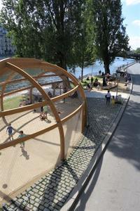 セーヌ河岸の公園 Parc Rives de Seine - tony☆