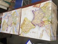 YSGA第336回定例会の様子その9 軍師官兵衛、帝王を下す...(Compass)Nine Years アウクスブルク大同盟戦争 1688年 - 1697年  - YSGA(横浜シミュレーションゲーム協会) 例会報告