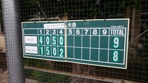 ジュニアカップ83's3部決勝T - 学童野球と畑とたまに自転車