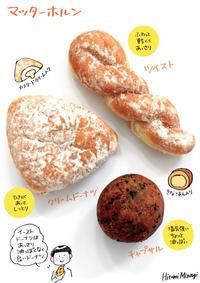 【津田沼のパン屋さん】マッターホルンのドーナツ3種【種類豊富】 - 溝呂木一美(飯塚一美)の仕事と趣味とドーナツ