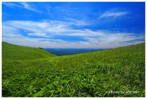 No.878 緑の丘 - きせつ WA めぐる ~ 日本の風景 ~