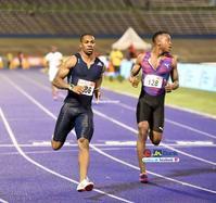 ジャマイカ選手権2日目 100m決勝と400mハードル決勝 - ジャマイカブログ Ricoのスケッチ・ダイアリ