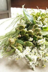 スワッグはインテリアの一つと変化する - Groseille グロゼイユ~四季のお庭とぼちぼちお花活動~