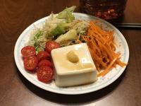 夕飯は 野菜 ニク 豆腐。もう寝ます。(笑) - よく飲むオバチャン☆本日のメニュー