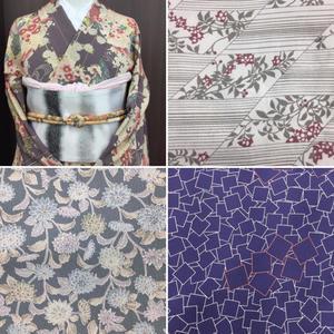 リユース洗える単衣着物 - KIMONO OLD&NEW たんす屋津田沼店の毎日が宝市