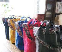 2WAYの帆布バッグ* カラフルに揃っております! - yasumin's cafe*