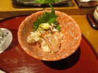 札幌すすきの、すし屋のさい藤にお邪魔。摘みと握り編。 - rodolfoの決戦=血栓な日々