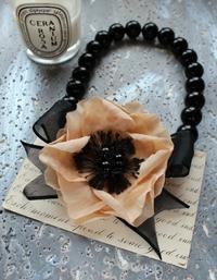 染花のチョーカー - Copporate-ロマンティックなアクセサリーショップ-