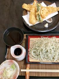 青しそ変わり蕎麦  蕎麦の飯嶋 - ミトンのマクロビキッチン