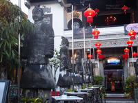 2014.2.16 Indochine Waterfront Restaurant - 青空に浮かぶ月を眺めながら