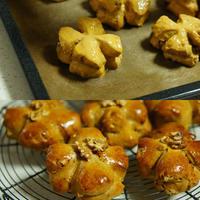 レッスンレポ~クルミパンと山食パン~ - choco cafe* パン教室