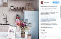 SMEGのレトロな冷蔵庫 - JIN AND MARRY オフィシャルブログ