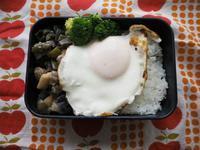 6/26(月)茄子とピーマンの味噌炒め弁当 - ぬま食堂