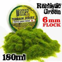スタティックグラス 6mm グリーン 4色混合 - フィギュアとは至福のいたり (偽  萌)
