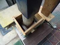 地震でぐらついた玄関柱の自前修繕! - 肥後モッコスブログ