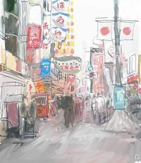 706 道頓堀 - こだわりの風景画(別館)