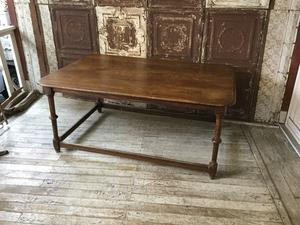 1890s? Old Table - REAL MONKEY 仙台 ~ Vintage & Antiques ~古着屋
