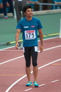 第101回 日本陸上競技選手権大会 末續選手 - 無題