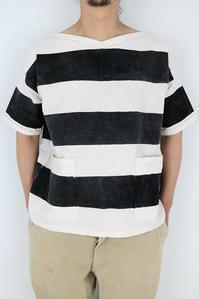 囚人服の色落ちの参考画像 - 佐々木洋品店のブログ