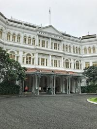 あの元祖シンガポールスリングが無料に!@Raffles Hotel - 日日是好日 in Singapore
