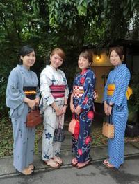 梅雨にも負けず、浴衣で楽しくお出かけに。 - 京都嵐山 着物レンタル&着付け「遊月」