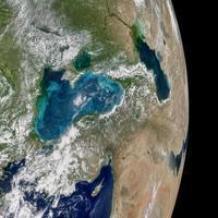 地球観測衛星アクアが宇宙から捉えた青緑色に変色した黒海 - 秘密の世界        [The Secret World]