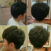 メンズパーマ - 松江市美容室 hair atelier bonet(ヘアアトリエボネット)