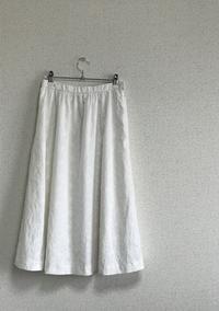 白いコットンレースのスカートは完成した うしし~♪ - 新生・gogoワテは行く!