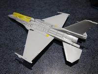 ハセガワ 1/72 三菱F-2B 製作中 (5) - DNF