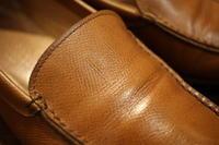 お客様の一足~HERMES Slipon~ - 日本橋三越2F 靴修理・靴お手入れ工房スタッフの日常(シューリペア工房)